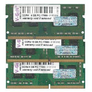 V-GeN RESCUE SODIMM DDR4 PC 17000 – 2133 Mhz