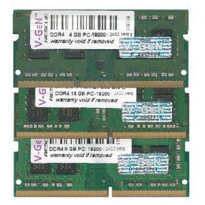 V-GeN RESCUE SODIMM DDR4 PC 19200 – 2400 Mhz