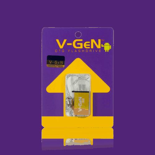 Otg 16GB Gold Depan