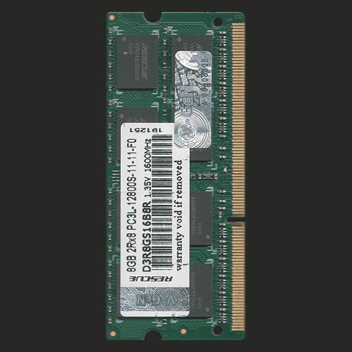 DDR3-RESCUE-8GB-PC12800S-1600MHZ-1.35V