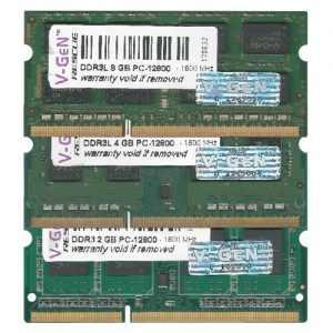 V-GeN RESCUE SODIMM DDR3 PC 12800 – 1600 Mhz