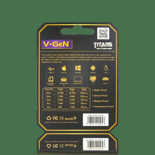 Titan 128GB Belakang